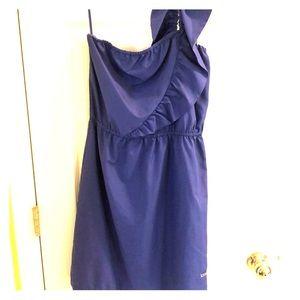 Ruffled One Strap Dress